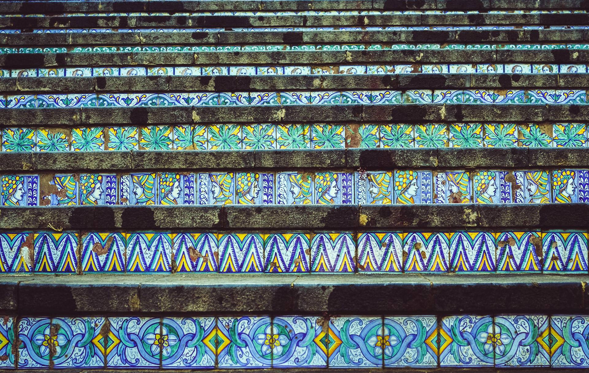 scalinata caltagirone